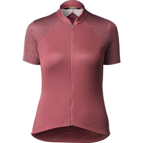 Mavic Sequence Graphic Jersey Dames, earth red